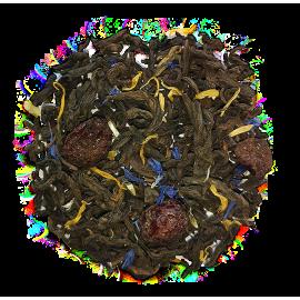 Pu Erh z żurawiną, malwą i słonecznikiem - 50 g