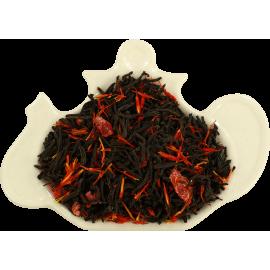 Czarna herbata z migdałami, wiśnią i słonecznikiem - 100g