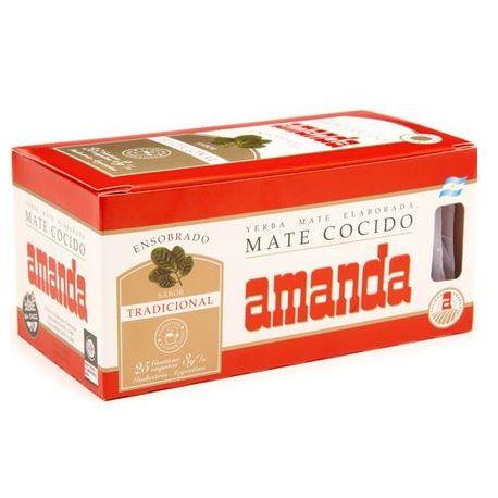 AMANDA - Klasyczna 25 sasz. x3g