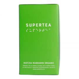 Supertea - Matcha Mandarin Organic (20x1,5g)