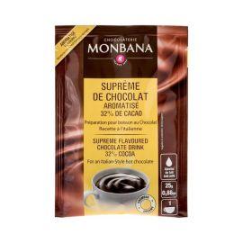 Monbana czekolada rozpuszczalna o smaku waniliowym - saszetka 25g