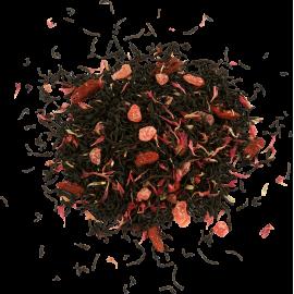 Czarna herbata z truskawką, jagodami i bławatkiem 100g