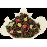 Zielona herbata z ananasem i wiśnią - 100g