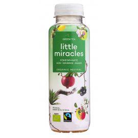 Napój orzeźwiający o smaku zielonej herbaty, granatu, acai i żeń-szenia - 330ml - Little Miracles