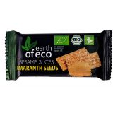 Sezamki z amarantusem bezglutenowe 18g - Earth of Eco