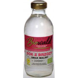 Sok z brzozy o smaku malinowym 330ml - Biowald