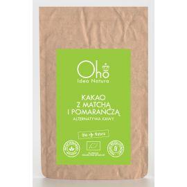 Kakao z matchą i pomarańczą 100g - Oho bambuczi