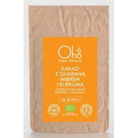 Kakao z guaraną, imbirem i kurkumą 100g - Oho bambuczi
