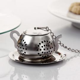 Zaparzacz do herbaty - okrągły czajniczek - 3,5 cm