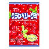 Japońskie żelki o smaku żurawiny - torebka 107g