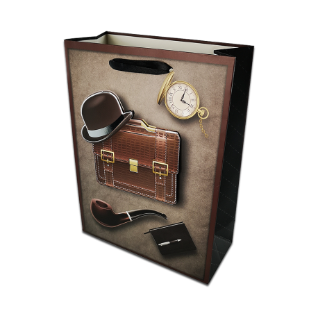 Torba prezentowa - teczka i dodatki - duża