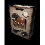 Torba prezentowa - teczka i dodatki - mała