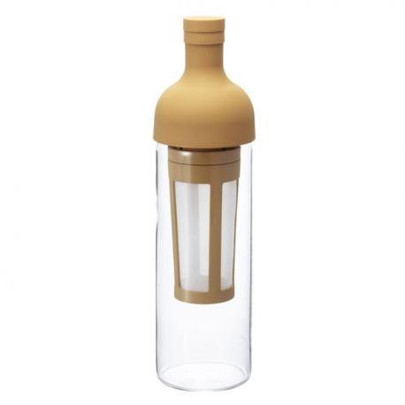 Hario Cold Brew Tea - butelka z filtrem kremowa