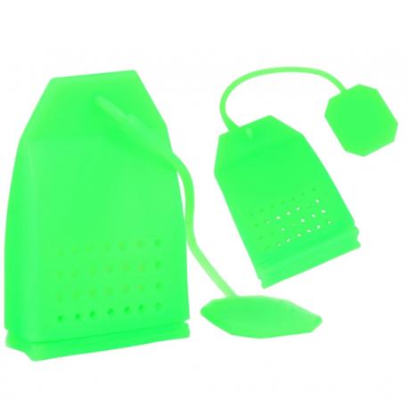 Zaparzacz do herbaty - Zielona torebka
