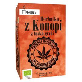 Herbatka z konopi z łuską gryki - 20x0,8g