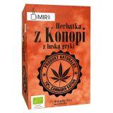 Ekologiczna herbatka z konopi z łuską gryki - 20x0,8g