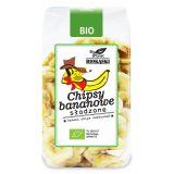Chipsy bananowe słodzone 150g