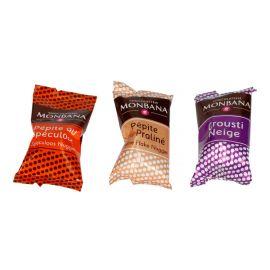 Praliny Monbana Crispy Cereals Mix - 3szt.