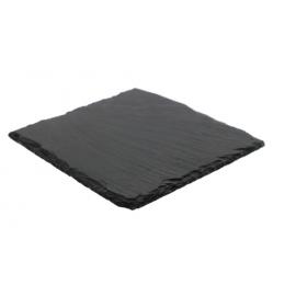 Kamienna podstawka - czarna