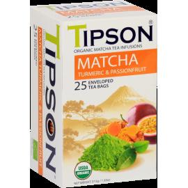 Matcha Turmeric Passionfruit 25 saszetek