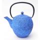 Żeliwny niebieski dzbanek - 1000ml