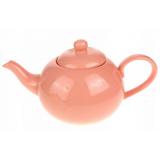 Dzbanek ceramiczny pastelowy róż - 600ml
