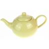 Dzbanek ceramiczny pastelowy żółty - 600ml