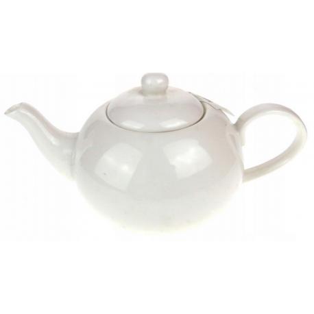 Dzbanek ceramiczny biały - 600ml