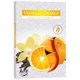 Podgrzewacz zapachowy - Pomarańcza i wanilia 6szt.
