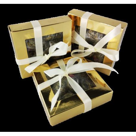 Herbata Kwitnąca w złotym pudełku 4 szt.