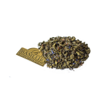 Zielona herbata cejlońska, wysokogórska, liściasta z niebieskim chabrem, szafranem i nutą bergamotki (Earl Grey).