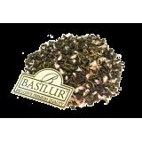 Zielona herbata cejlońska, wysokogórska, liściasta z kwiatami amarantu oraz nutą białego rumu, ananasa i kokosa.