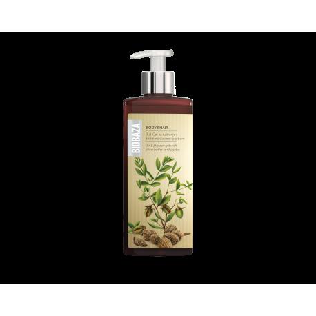 BIOBAZA BODY & HAIR 3 in 1 - żel pod prysznic z masłem shea i jojobą - 400ml