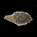 Wysokogórska zielona herbata cejlońska z dodatkiem mięty, amarantu i szafranu..