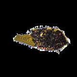 Czarna herbata cejlońska z maliną, papają, owocami dzikiej róży oraz kwiatami nagietka i bławatka.