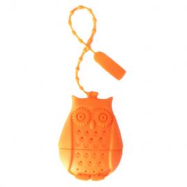 Zaparzacz do herbaty - sowa pomarańczowa