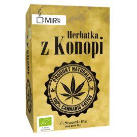 Ekologiczna herbatka z konopi 20 x 0,8 g