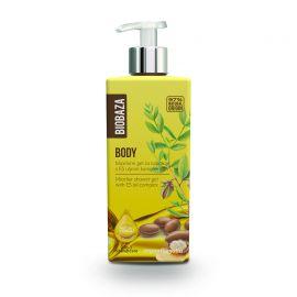 BIOBAZA BODY - micelarny żel pod prysznic z olejkiem arganowym i jojobą - 400ml
