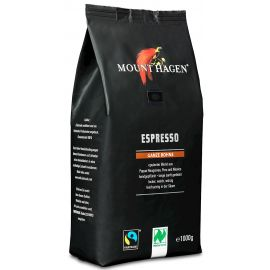 MOUNT HAGEN Espresso - Kawa ziarnista BIO 1000g