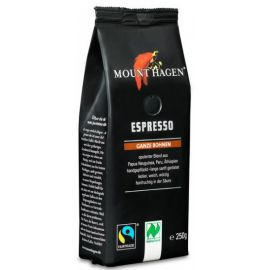 MOUNT HAGEN Espresso - Kawa ziarnista BIO 250g