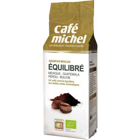 Cafe Michel - Kawa mielona Arabica Equilibre BIO 250g