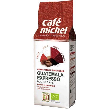 Cafe Michel - Kawa mielona Espresso Gwatemala BIO 250g