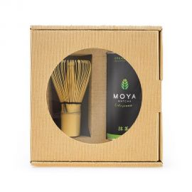 Zestaw Moya Matcha Codzienna 2-częściowy z miotełką Chasen