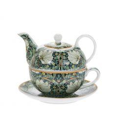 Filiżanka + imbryk - William Morris Pimpernel Tea 300 ml + 450 ml