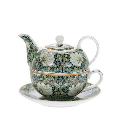 Tea For One William Morris - zestaw filiżanka + imbryk - Pimpernel Tea