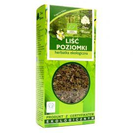 Herbatka Liść Poziomki - 25 g - Dary Natury