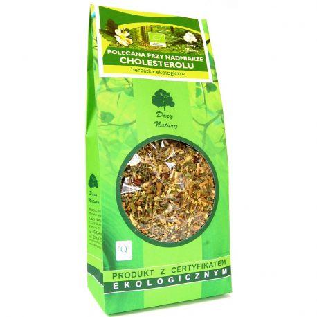 Herbatka polecana przy nadmiarze cholesterolu 50g - Dary Natury