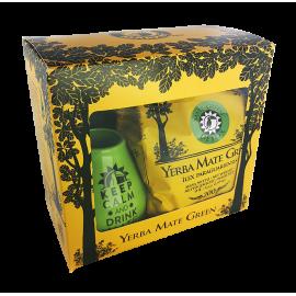Zestaw Yerba Mate Green Detox 200 g w pudełku + akcesoria
