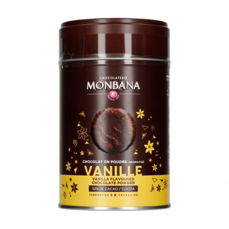 Monbana czekolada w proszku Vanille - 250g