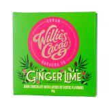 Willie's Cacao - Czekolada 70 % Imbir i Limonka - 50 g